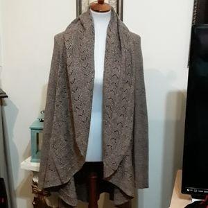 Karen Scott Plus Size Open Sweater